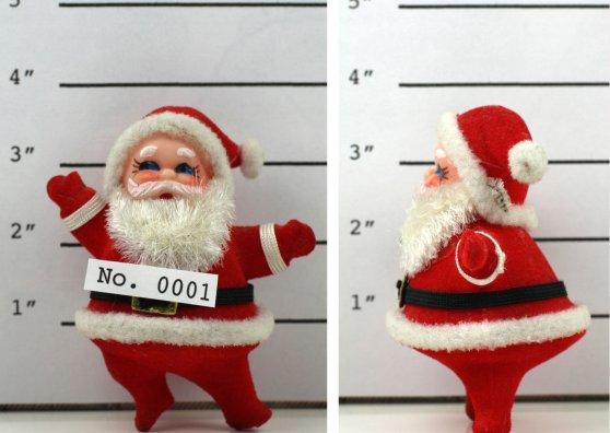 Travel Postcard - Joulupukki pidätettynä - (cc) Kevin Dooley