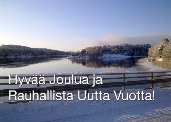 Travel Postcard - Hyvää Joulua ja Rauhallista Uutta Vuotta