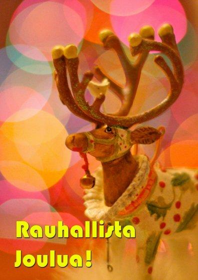Travel Postcard - Rauhallista joulua (cc) kevin dooley